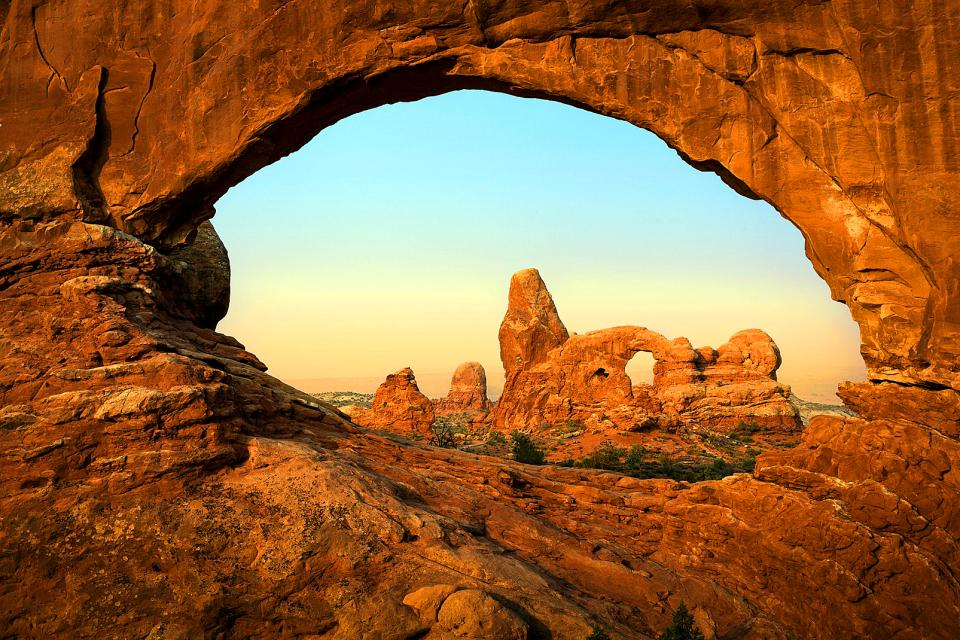 Le parc national des Arches , Etats-Unis