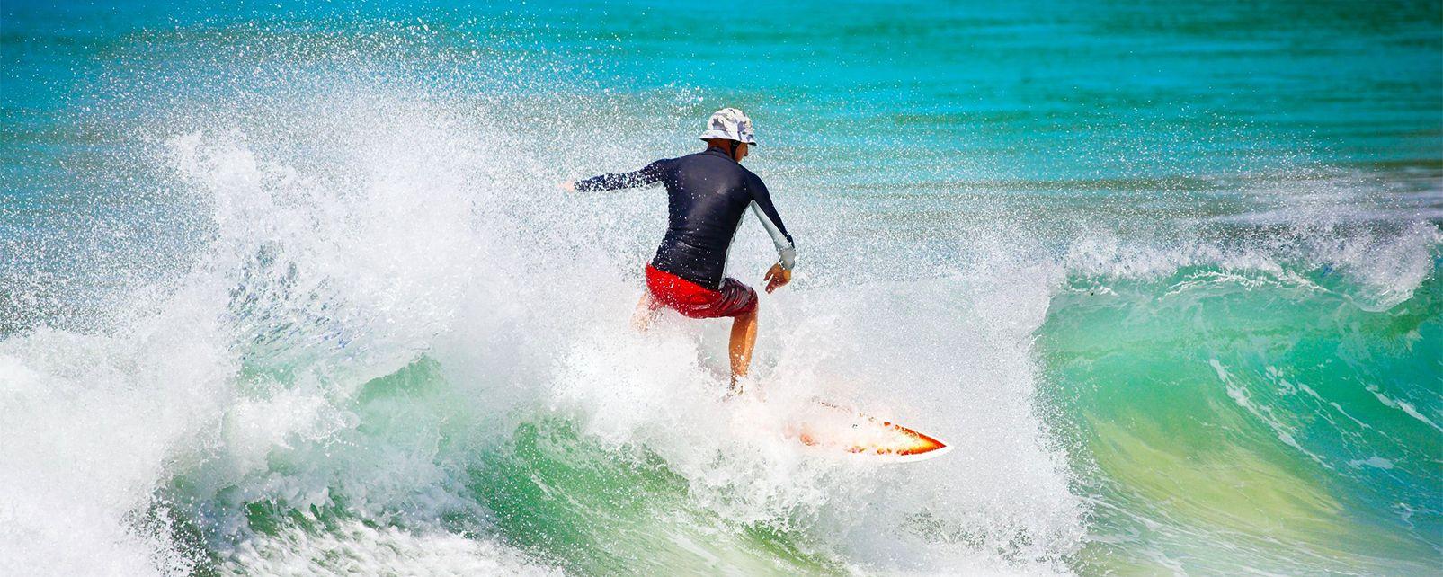 El surf , Estados Unidos