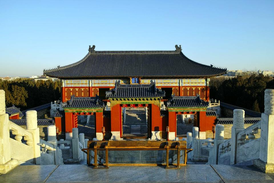 Le temple du Ciel (Tiantan) , Chine