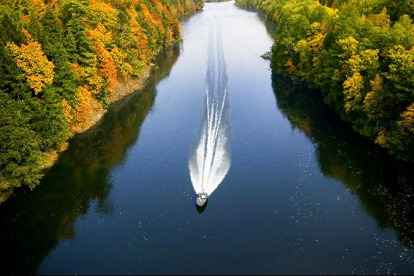 The Connecticut River , United States of America