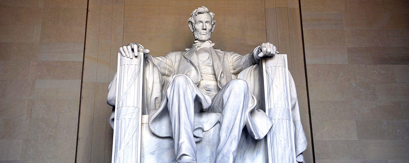 Le Lincoln Memorial , Etats-Unis