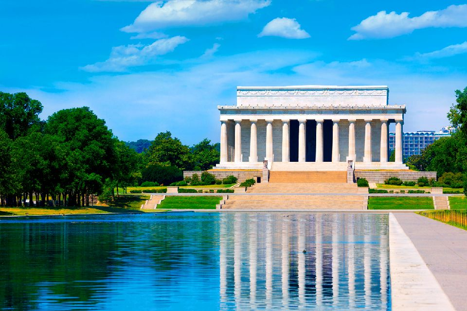 The Lincoln Memorial , United States of America