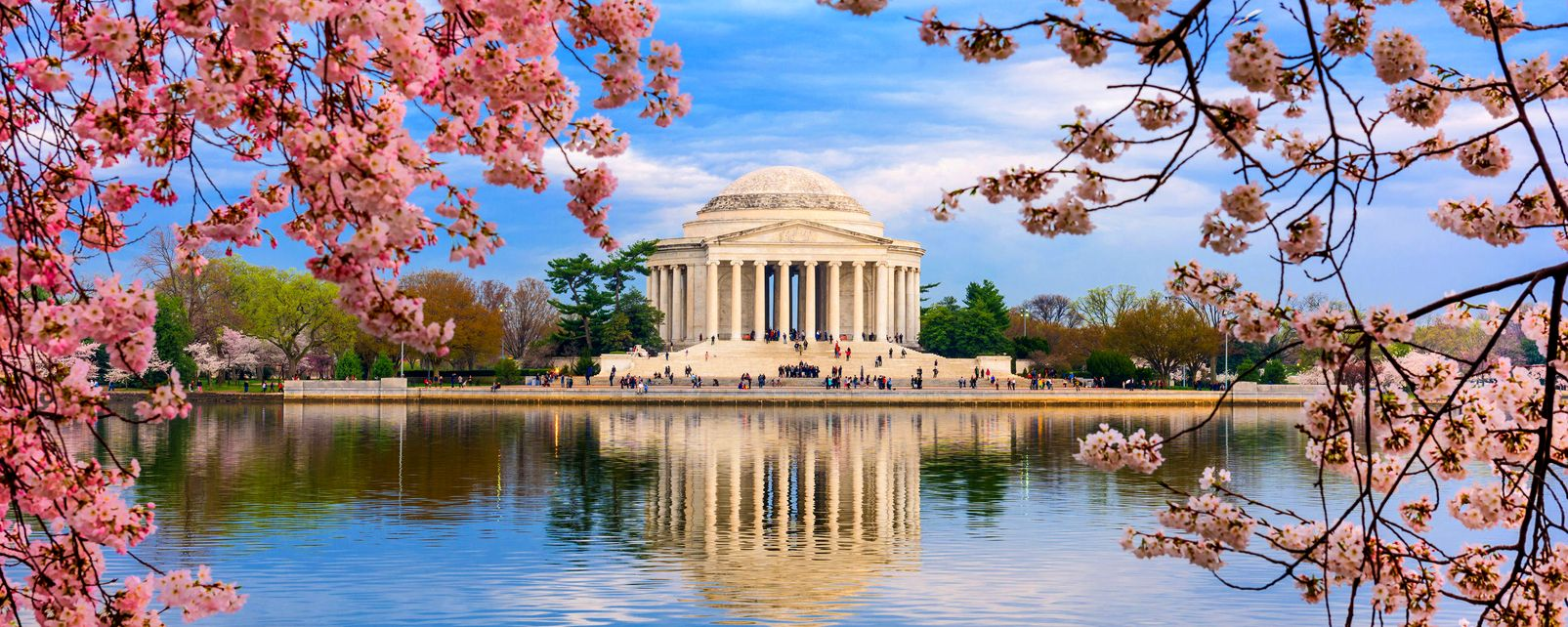 Das Jefferson Memorial , USA
