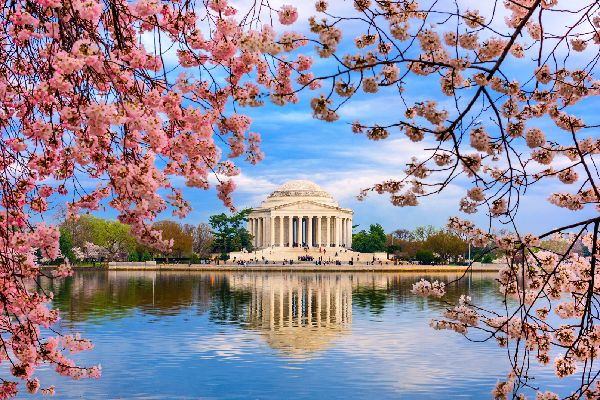 Le Jefferson Memorial , Etats-Unis