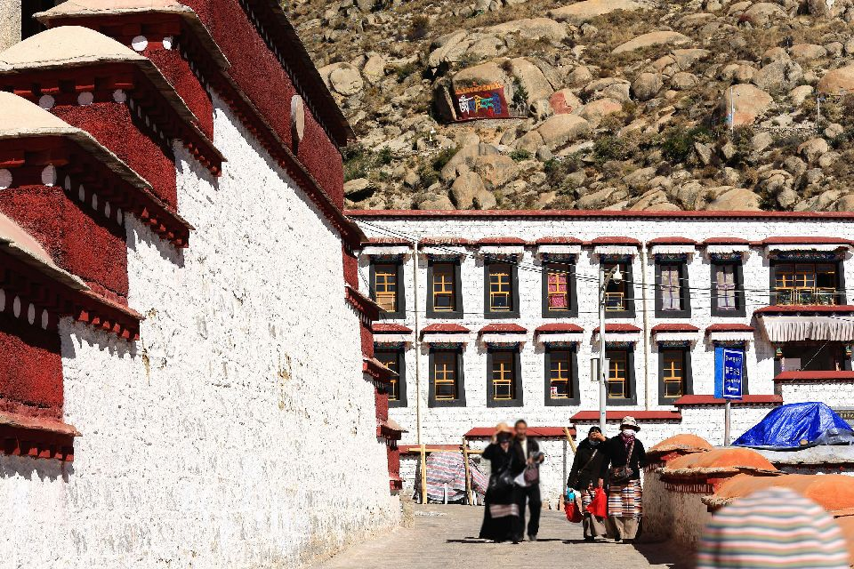 The Drepung monastery , Ganden Podang, Drepung , China