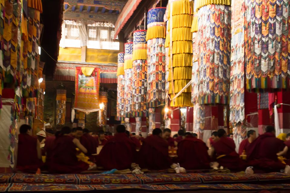 The Drepung monastery , The Drepung Monastery , China