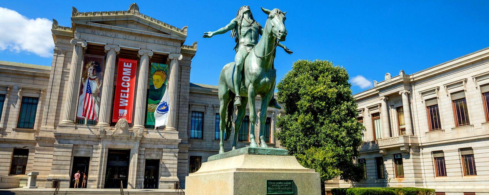 Il museo delle Belle Arti di Boston , Stati Uniti