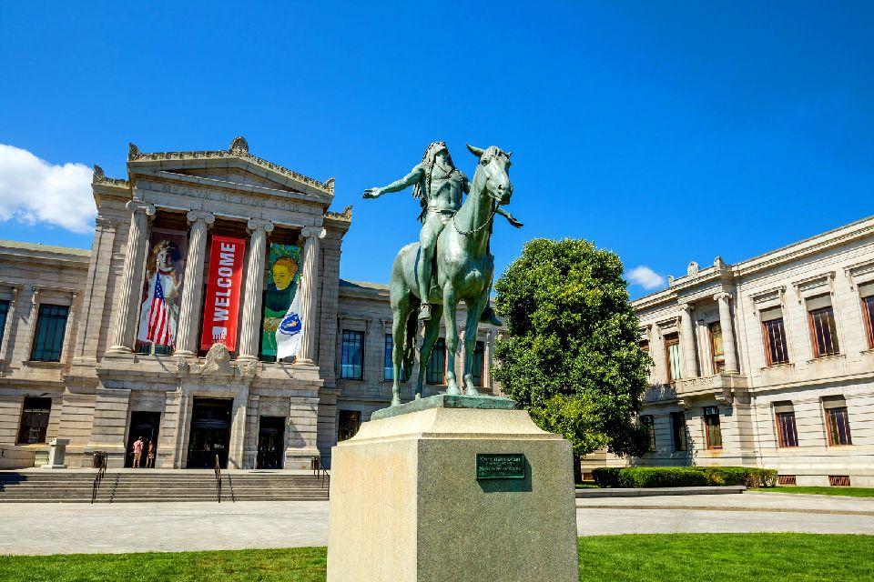 The Fine Arts Museum in Boston , United States of America