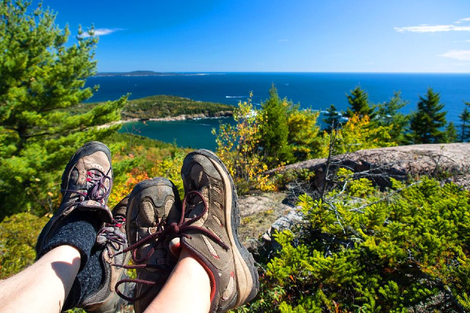 Le parc national d'Acadia , Etats-Unis