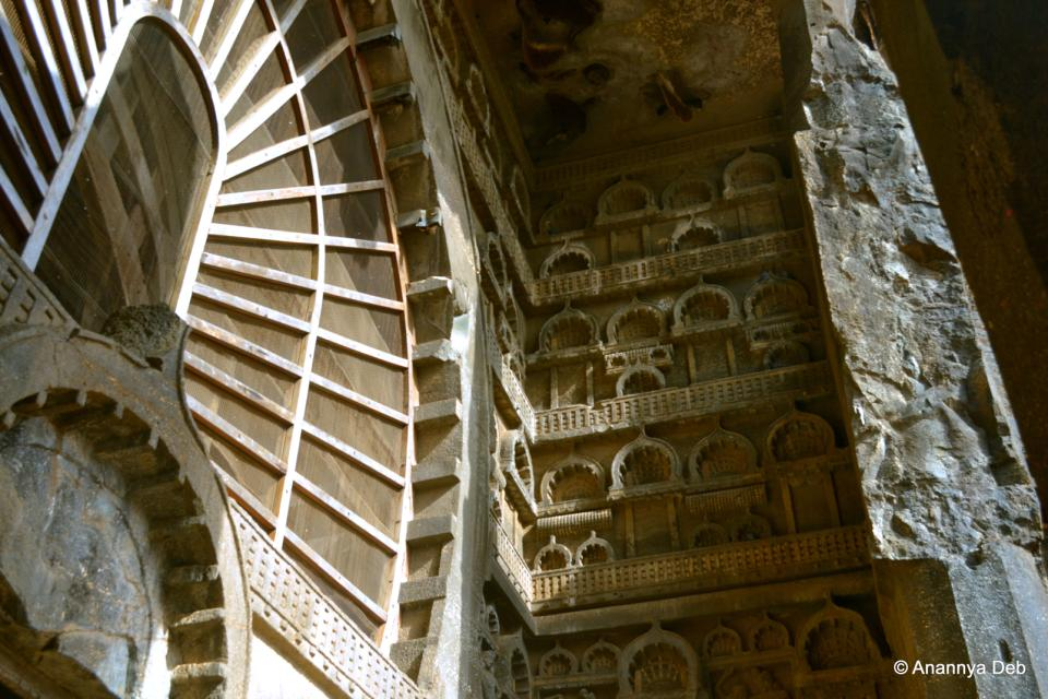 The Karla caves , India