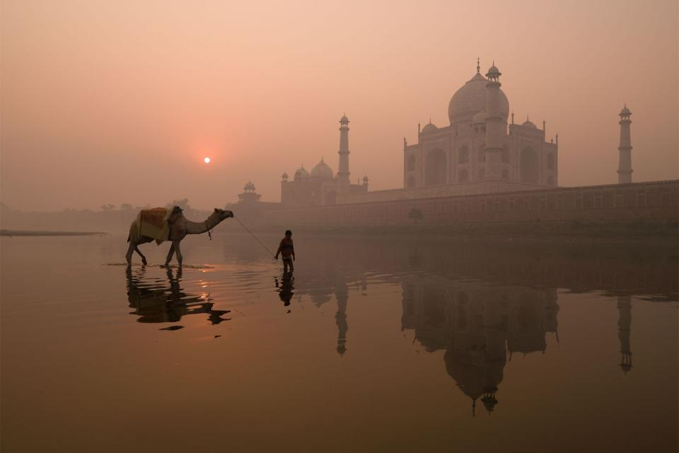 The Taj Mahal , India
