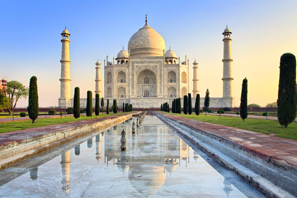 , The Taj Mahal, Monuments, Agra, North India