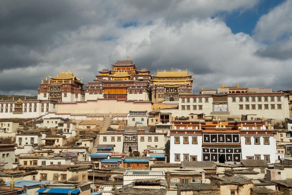 Le monastère de Ganden , Le centre religieux , Chine