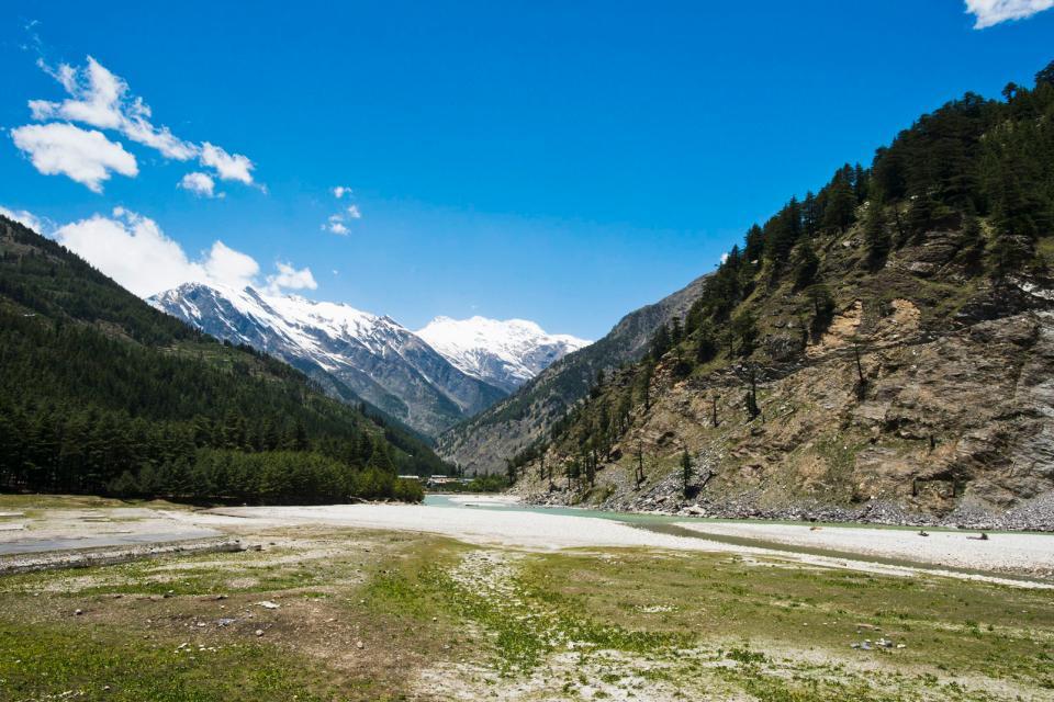 Le Parc National De Gangotri Inde Du Nord Inde