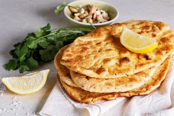 Naan-Brot , Indien