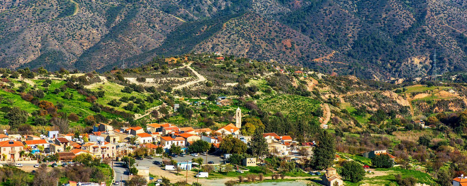 La chaîne des Troodos , Les montagnes des Troodos , Chypre