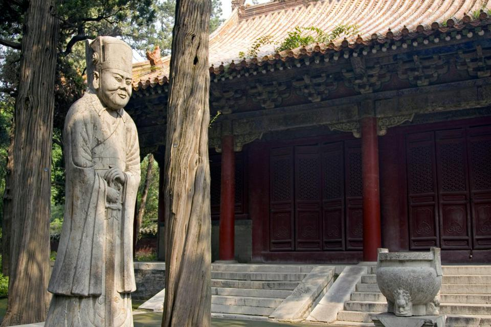 Le temple de Confucius , Chine