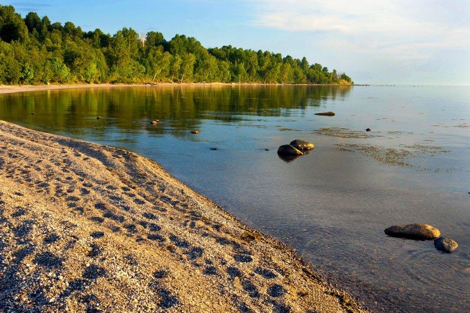 Un lac magnifique, Le lac Onega, Les paysages, Le nord de la Russie
