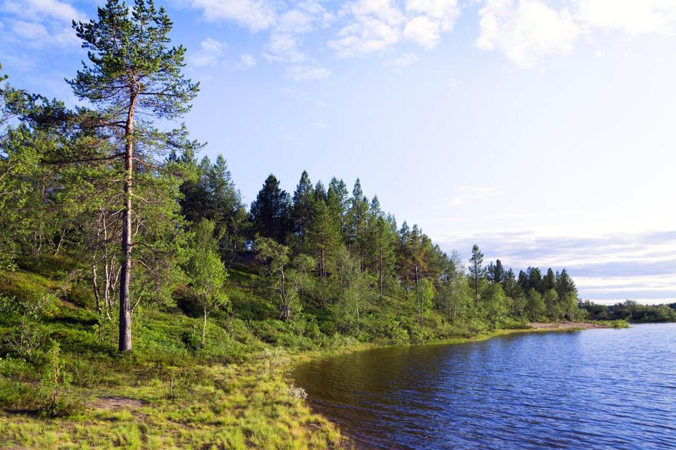 La péninsule de Kola , Russie
