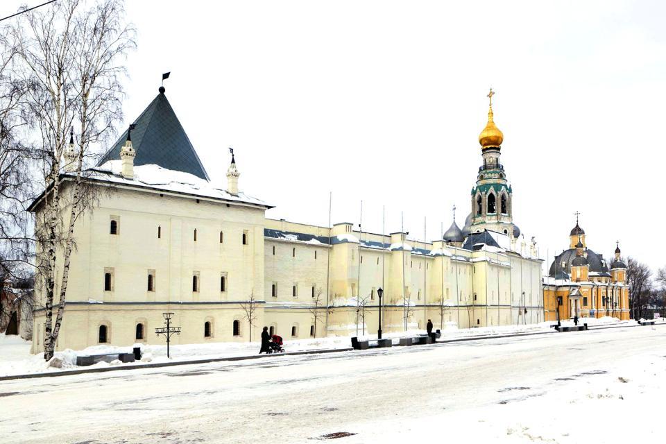 Il Cremlino di Vologda , Russia