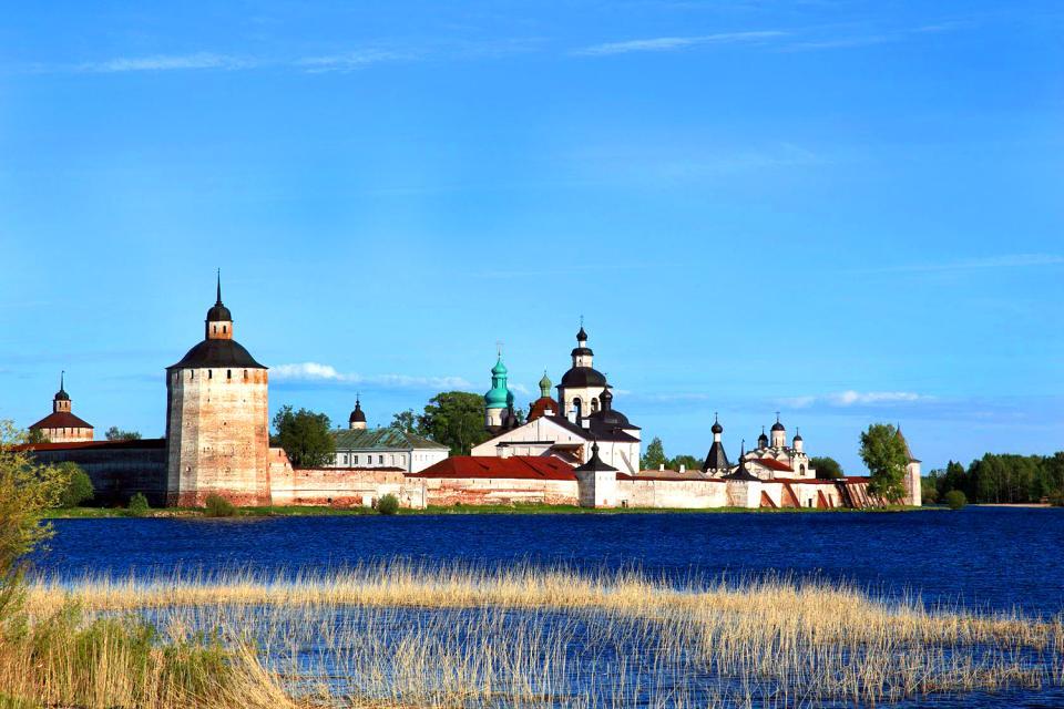 Le monastère Kirillov-Belozerski , Russie