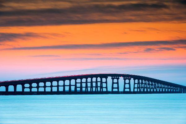 El archipiélago de Outer Banks , Estados Unidos