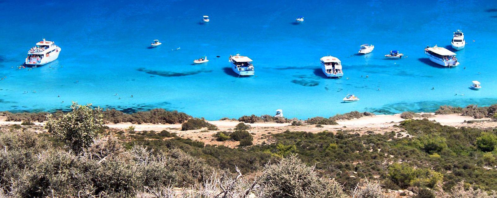 La péninsule d'Akamas , Chypre