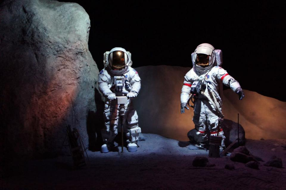 El centro espacial de la NASA en Houston , Estados Unidos