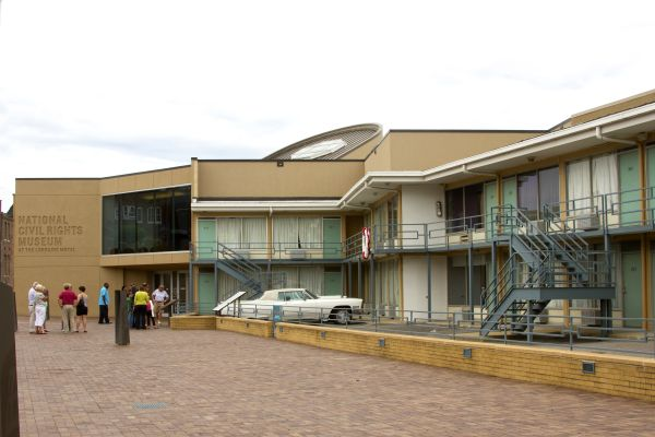 , The National Civil Rights Museum in Memphis, Museums, Southern USA