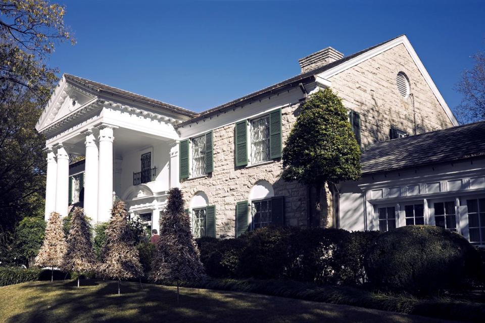 La « Graceland Mansion » d'Elvis Presley , Etats-Unis