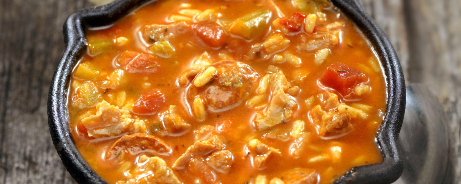 , El Gumbo, Gastronomía, El Sur de Estados-Unidos