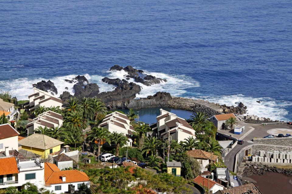 Les piscines naturelles de Biscoitos (à Terceira) , Les piscines naturelles de Biscoitos, Açores , Portugal