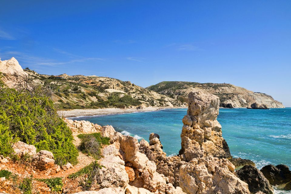 The west coast , The Rock of the Greek , Cyprus