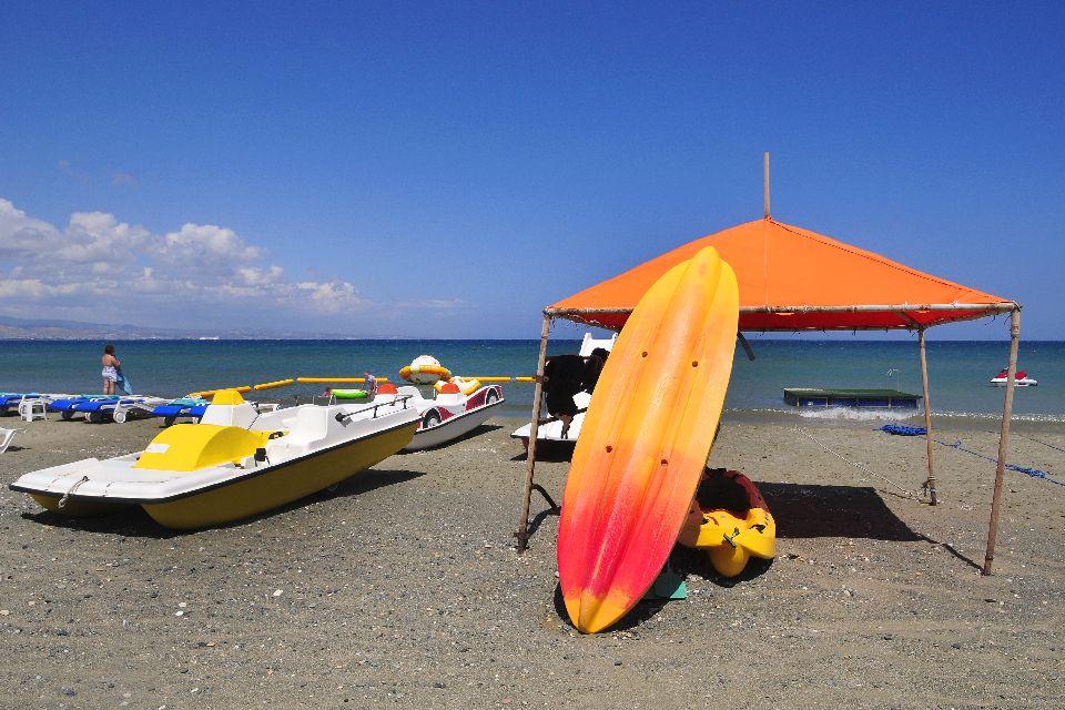 Akrotiri Bay , Water sports in Limassol , Cyprus
