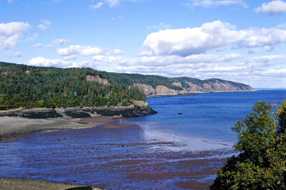 La Bahía de Fundy , Canadá