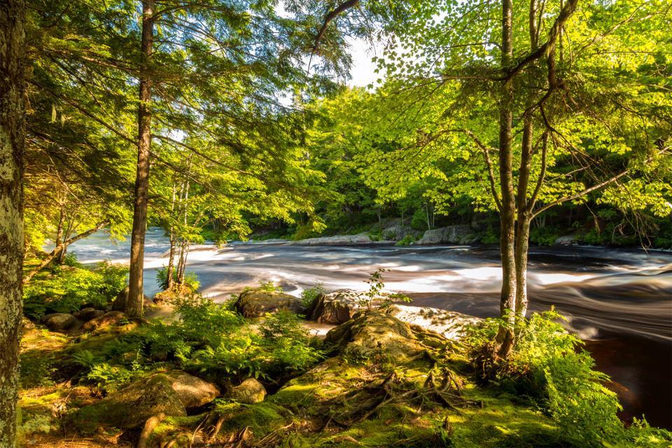 El Parque Nacional Kejimkujik , Canadá