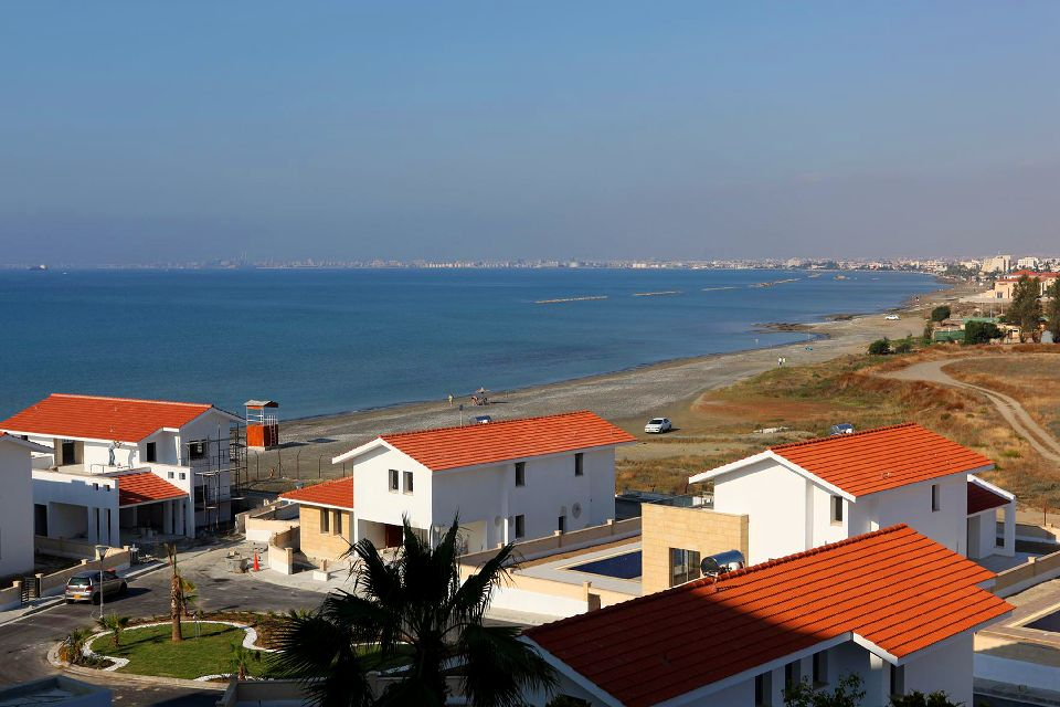 Larnaca Bay , The Bay of Larnaca , Cyprus