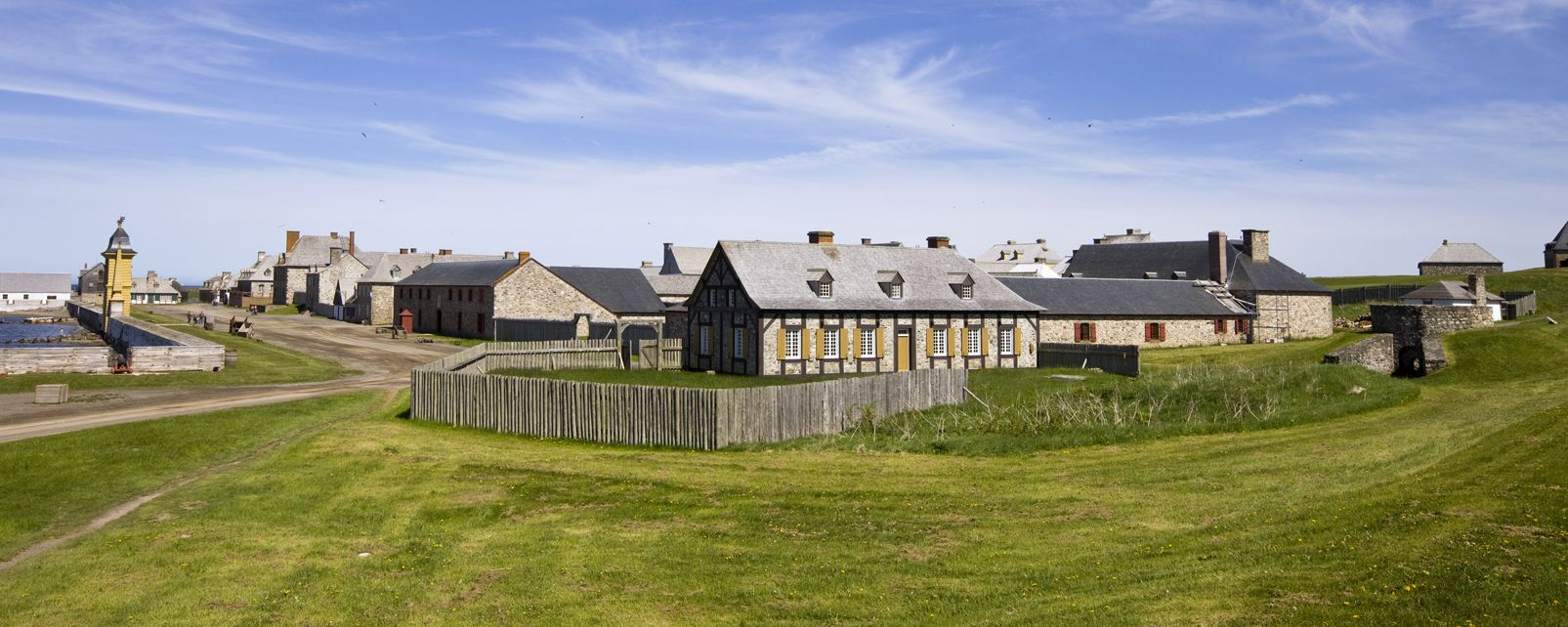 , The Fortress of Louisbourg, Monuments, New Scotland