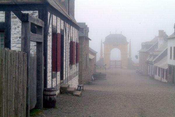 Les monuments, Louisbourg, forteresse, canada, amérique, nouvelle-ecosse, cap-breton, nova-scotia, fortification