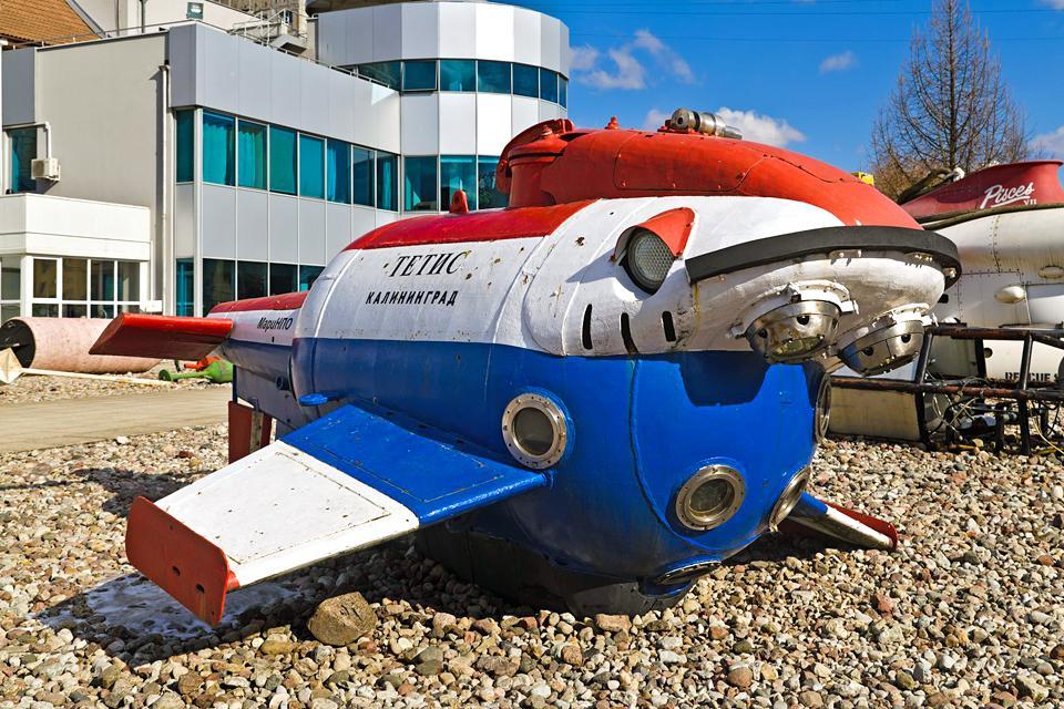 Il Museo Oceanografico , Russia