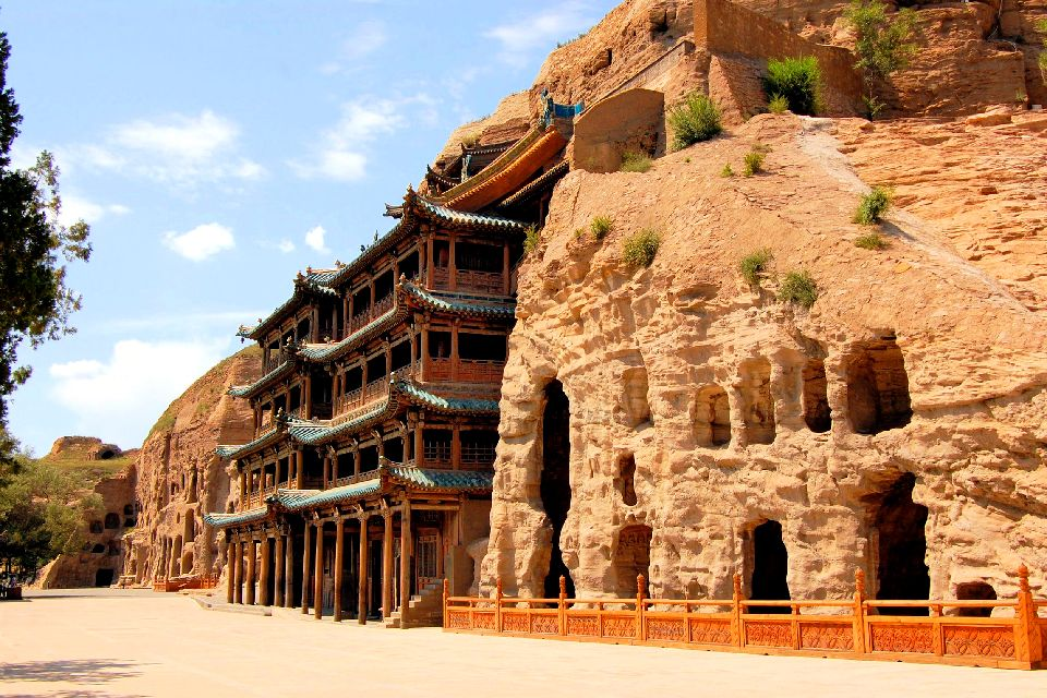 Les grottes bouddhiques de Yungang , Chine