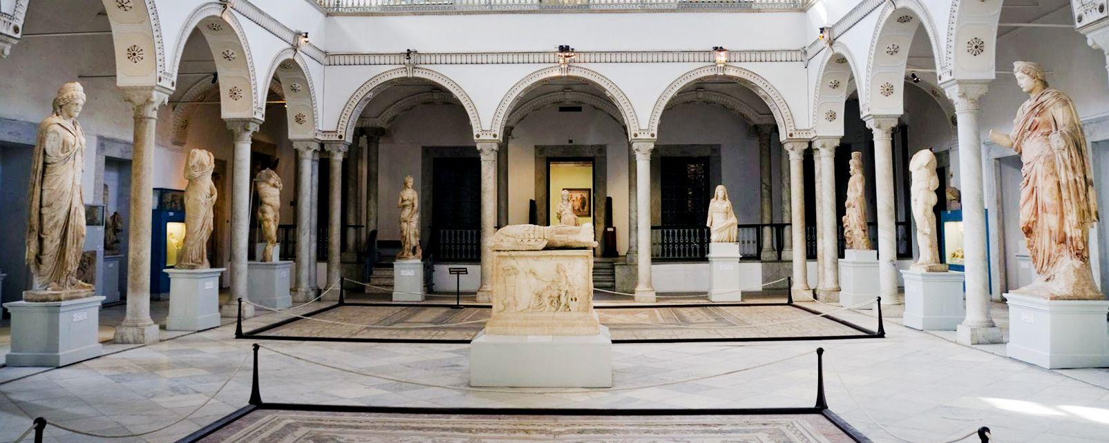 Les arts et la culture, Tunisie maghreb afrique Tunis bardo musée art histoire oeuvre vestige antiquité empire romain romain statue.
