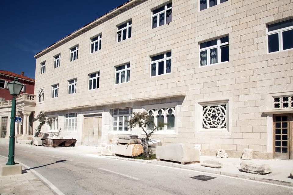 Institut tailleurs de pierres de Pucisca , Croatie