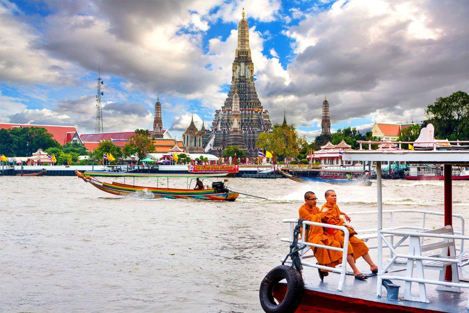 Le fleuve Chao Phraya à Bangkok, Bangkok - Chao Phraya, Transport, Bangkok, Thaïlande