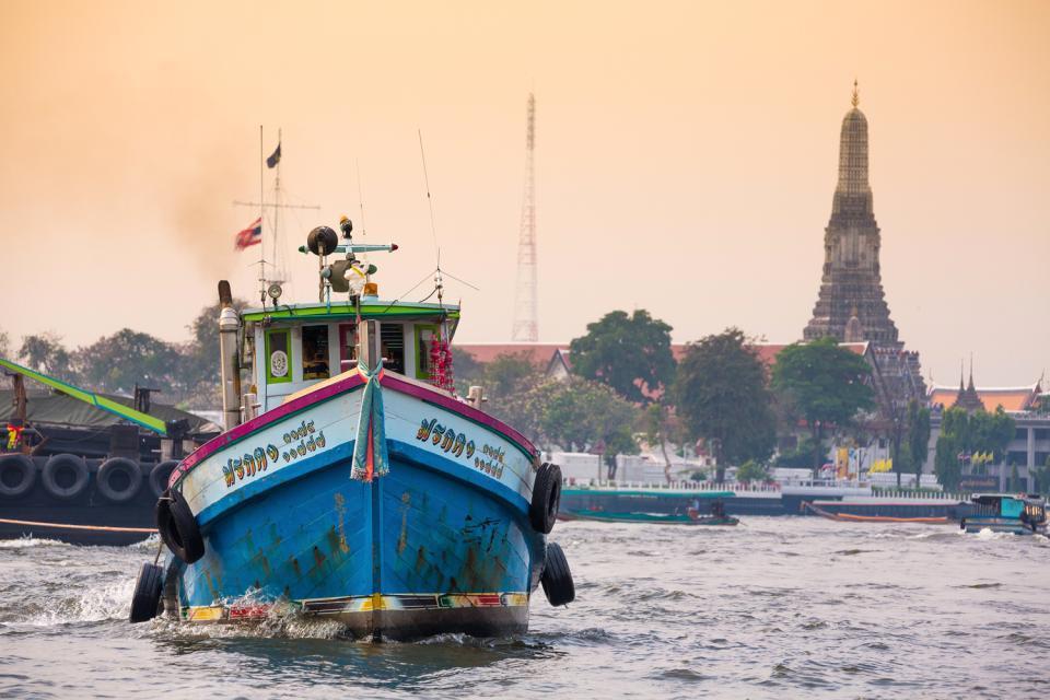 Bangkok , Chao Phraya , Thaïlande