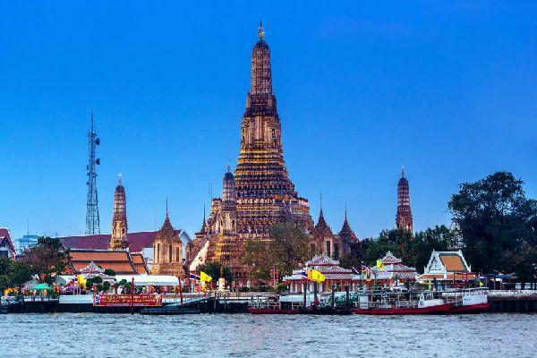 Wat Arun , Bangkok , Thaïlande
