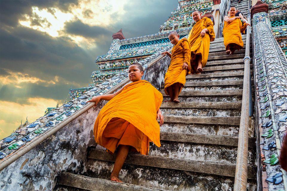 Le Wat Arun à Bangkok, Wat Arun - Bangkok, Les monuments, Bangkok, Thaïlande