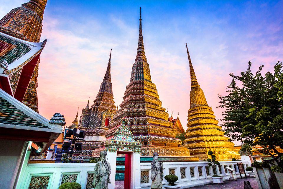 Le Wat Pho à Bangkok, Wat Pho - Bangkok, Les monuments, Bangkok, Thaïlande