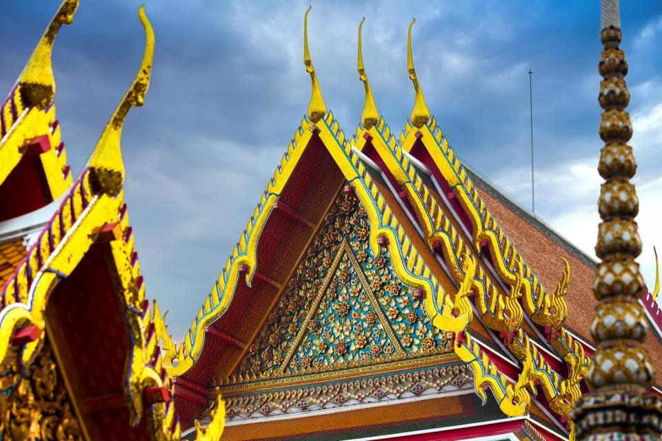 Wat Pho , Bangkok , Thaïlande
