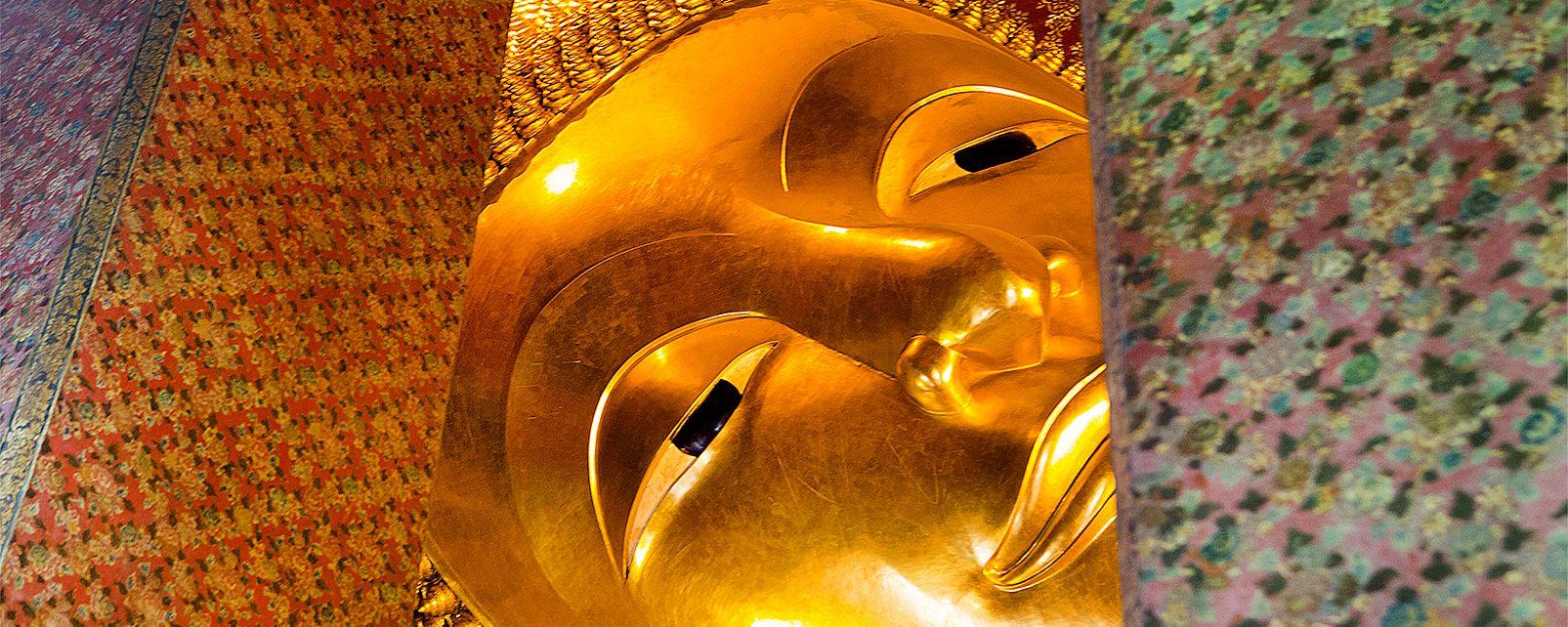 Il Buddha disteso, Il Buddha disteso - Bangkok, I monumenti, Bangkok, Thailandia